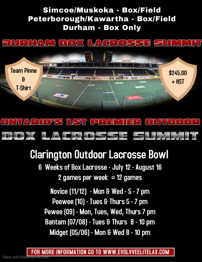 Summer Box Lax Summit